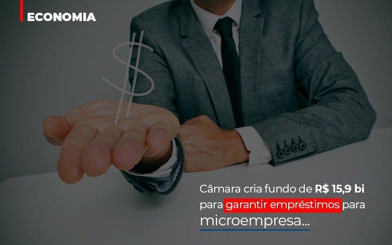 Camara Cria Fundo De Rs 15 9 Bi Para Garantir Emprestimos Para Microempresa - Contabilidade Em Cuiabá - MT | Contaud