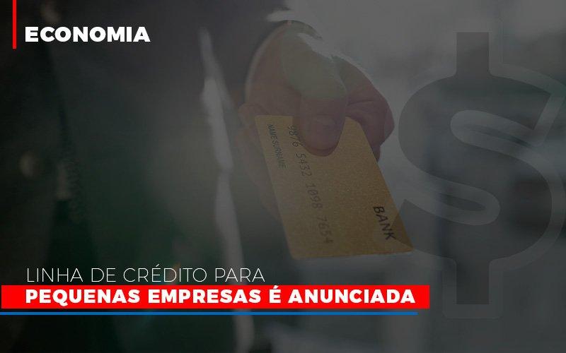 Linha De Credito Para Pequenas Para Pequenas Empresas E Anunciada - Contabilidade Em Cuiabá - MT | Contaud